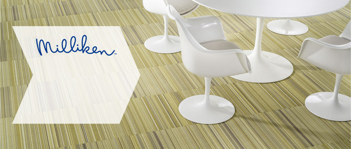 Milliken Carpet is one of the world's leading suppliers of sustainable contract carpet tile solutions.